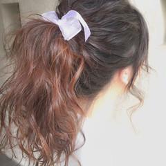 ショート ヘアアレンジ 簡単ヘアアレンジ ミディアム ヘアスタイルや髪型の写真・画像