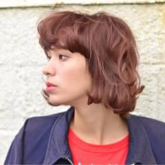 ストリート 外国人風 モード ウェーブ ヘアスタイルや髪型の写真・画像