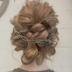 ミディアム 夏 ショート 結婚式 ヘアスタイルや髪型の写真・画像