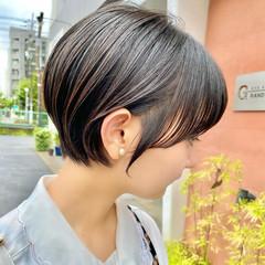 ショート ミニボブ ベリーショート ショートボブ ヘアスタイルや髪型の写真・画像