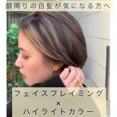 ミルクティーベージュ モカベージュ オリーブブラウン ナチュラル ヘアスタイルや髪型の写真・画像