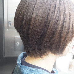 ショート 小顔 ボブ ショートボブ ヘアスタイルや髪型の写真・画像