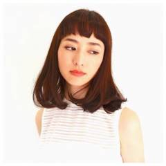 ミディアム ラフ ナチュラル かっこいい ヘアスタイルや髪型の写真・画像