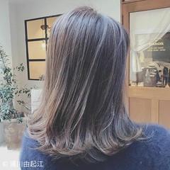 フェミニン グラデーションカラー ゆるふわ デート ヘアスタイルや髪型の写真・画像