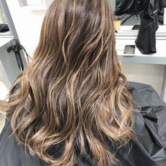 ハイライト ヘアカラー ロング 外国人風カラー ヘアスタイルや髪型の写真・画像