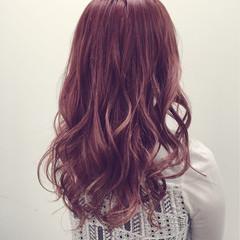 渋谷系 ピンク ゆるふわ ストリート ヘアスタイルや髪型の写真・画像