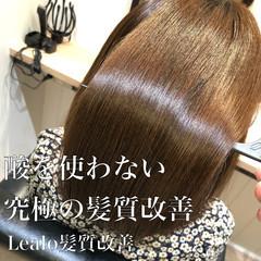 髪質改善トリートメント サイエンスアクア ボブ 髪質改善カラー ヘアスタイルや髪型の写真・画像