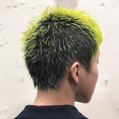 ストリート メンズ メンズカラー 派手髪 ヘアスタイルや髪型の写真・画像