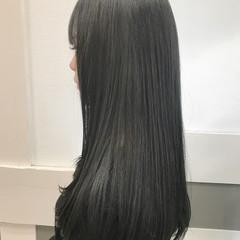 ナチュラル 前髪あり ロング 成人式 ヘアスタイルや髪型の写真・画像
