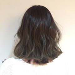 波ウェーブ フェミニン 外国人風 外ハネ ヘアスタイルや髪型の写真・画像