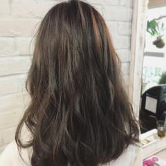 デート 秋 ミディアム ナチュラル ヘアスタイルや髪型の写真・画像
