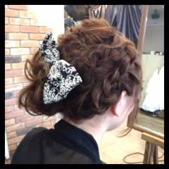 パーティ ストリート 夏 編み込み ヘアスタイルや髪型の写真・画像