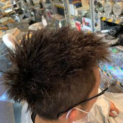 メンズショート メンズパーマ ツイスト メンズスタイル ヘアスタイルや髪型の写真・画像