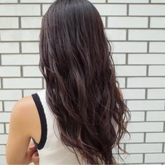 イルミナカラー ロング 外国人風 ストリート ヘアスタイルや髪型の写真・画像