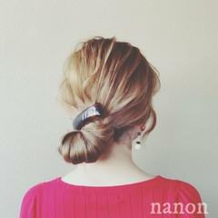 デート ナチュラル アウトドア ヘアアレンジ ヘアスタイルや髪型の写真・画像