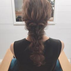 ヘアアレンジ オフィス アウトドア 結婚式 ヘアスタイルや髪型の写真・画像