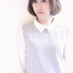 外国人風 大人かわいい アッシュ ストリート ヘアスタイルや髪型の写真・画像