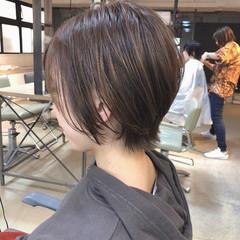 ナチュラル ウルフカット インナーカラー ショートヘア ヘアスタイルや髪型の写真・画像