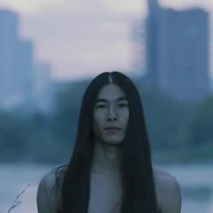 ロング 黒髪 ナチュラル メンズヘア ヘアスタイルや髪型の写真・画像
