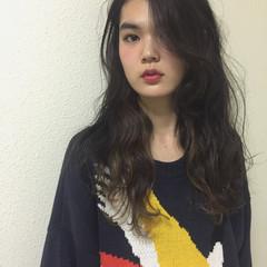 ハイライト 前髪あり 小顔 大人女子 ヘアスタイルや髪型の写真・画像