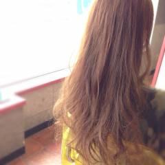 ブラウンベージュ モテ髪 黒髪 ナチュラル ヘアスタイルや髪型の写真・画像