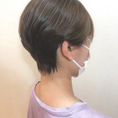 外国人風カラー ショート ショートボブ ブルージュ ヘアスタイルや髪型の写真・画像