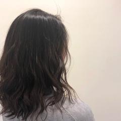ナチュラル アッシュ アッシュベージュ 透明感 ヘアスタイルや髪型の写真・画像