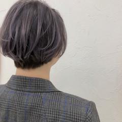 ショート ストリート ミニボブ ショートボブ ヘアスタイルや髪型の写真・画像