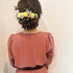 ヘアセット アップ 結婚式 浴衣ヘア ヘアスタイルや髪型の写真・画像