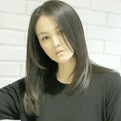 ナチュラル 外国人風 セミロング 大人かわいい ヘアスタイルや髪型の写真・画像