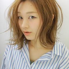 ヘアアレンジ ナチュラル 夏 涼しげ ヘアスタイルや髪型の写真・画像