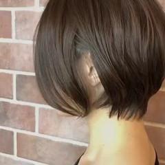 ボブ フェミニン 色気 オフィス ヘアスタイルや髪型の写真・画像