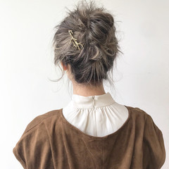 ヘアアレンジ ナチュラル 結婚式 冬 ヘアスタイルや髪型の写真・画像