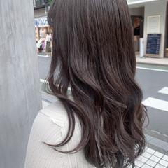 ナチュラル 韓国ヘア 地毛風カラー 暗色カラー ヘアスタイルや髪型の写真・画像
