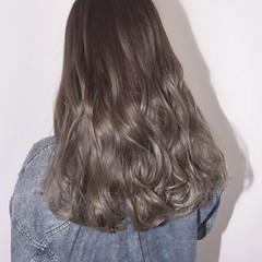 秋 ウェーブ 透明感 ストリート ヘアスタイルや髪型の写真・画像