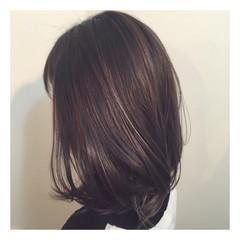 コンサバ ボブ 外国人風 暗髪 ヘアスタイルや髪型の写真・画像