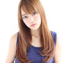 ストレート ナチュラル 簡単ヘアアレンジ 大人かわいい ヘアスタイルや髪型の写真・画像