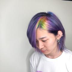 ブリーチカラー ブリーチ ストリート ショート ヘアスタイルや髪型の写真・画像