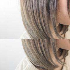 ナチュラル グラデーションカラー 愛され ボブ ヘアスタイルや髪型の写真・画像