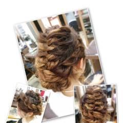 ゆるふわ フェミニン ガーリー ヘアアレンジ ヘアスタイルや髪型の写真・画像