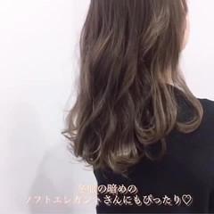 ロング レイヤーカット 韓国ヘア レイヤーロングヘア ヘアスタイルや髪型の写真・画像