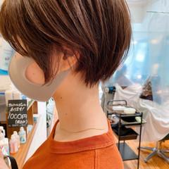 マッシュショート 丸みショート ショート ショートヘア ヘアスタイルや髪型の写真・画像