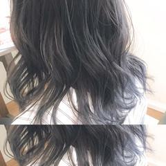 透明感 外国人風カラー ミディアム グラデーションカラー ヘアスタイルや髪型の写真・画像