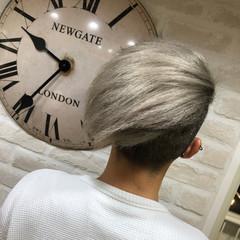 髪質改善トリートメント ハイトーンカラー ハイトーン ミルクティーベージュ ヘアスタイルや髪型の写真・画像