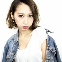 ストリート パンク 外国人風 グラデーションカラー ヘアスタイルや髪型の写真・画像