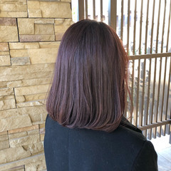 大人かわいい オフィス ヘアアレンジ ロブ ヘアスタイルや髪型の写真・画像