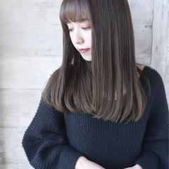 ロング ナチュラル 可愛い 艶髪 ヘアスタイルや髪型の写真・画像