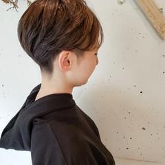 ツーブロック 似合わせカット ヘアカット ショート ヘアスタイルや髪型の写真・画像