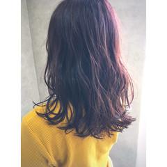 イルミナカラー 抜け感 透明感 フェミニン ヘアスタイルや髪型の写真・画像