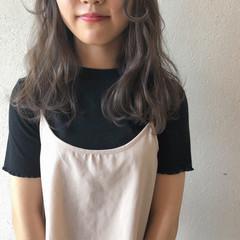 ミルクティーグレージュ ミルクティーベージュ グレージュ ミルクティー ヘアスタイルや髪型の写真・画像
